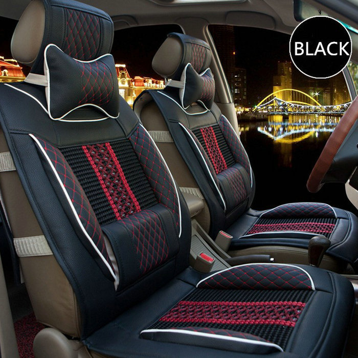 Car Seat Covers Leather&Ice Silk Universal for Toyota Ford VW Citroen C4 Peugeot 307 SUV Suzuki Audi Benz BMW   VW Hot Sale 2015 2017 luxury pu leather auto universal car seat cover automotive for car lada toyota mazda lada largus lifan 620 ix25