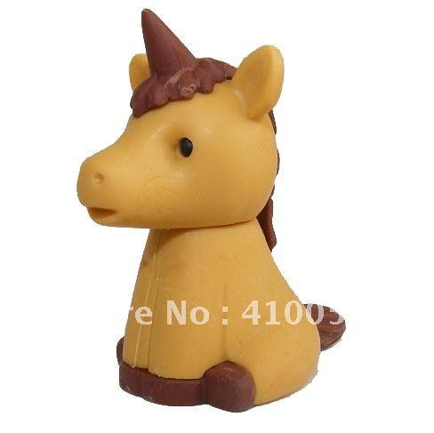Розничная ластик скидка школы Ластик Хэллоуин ластик набор ангел лошадь ластик