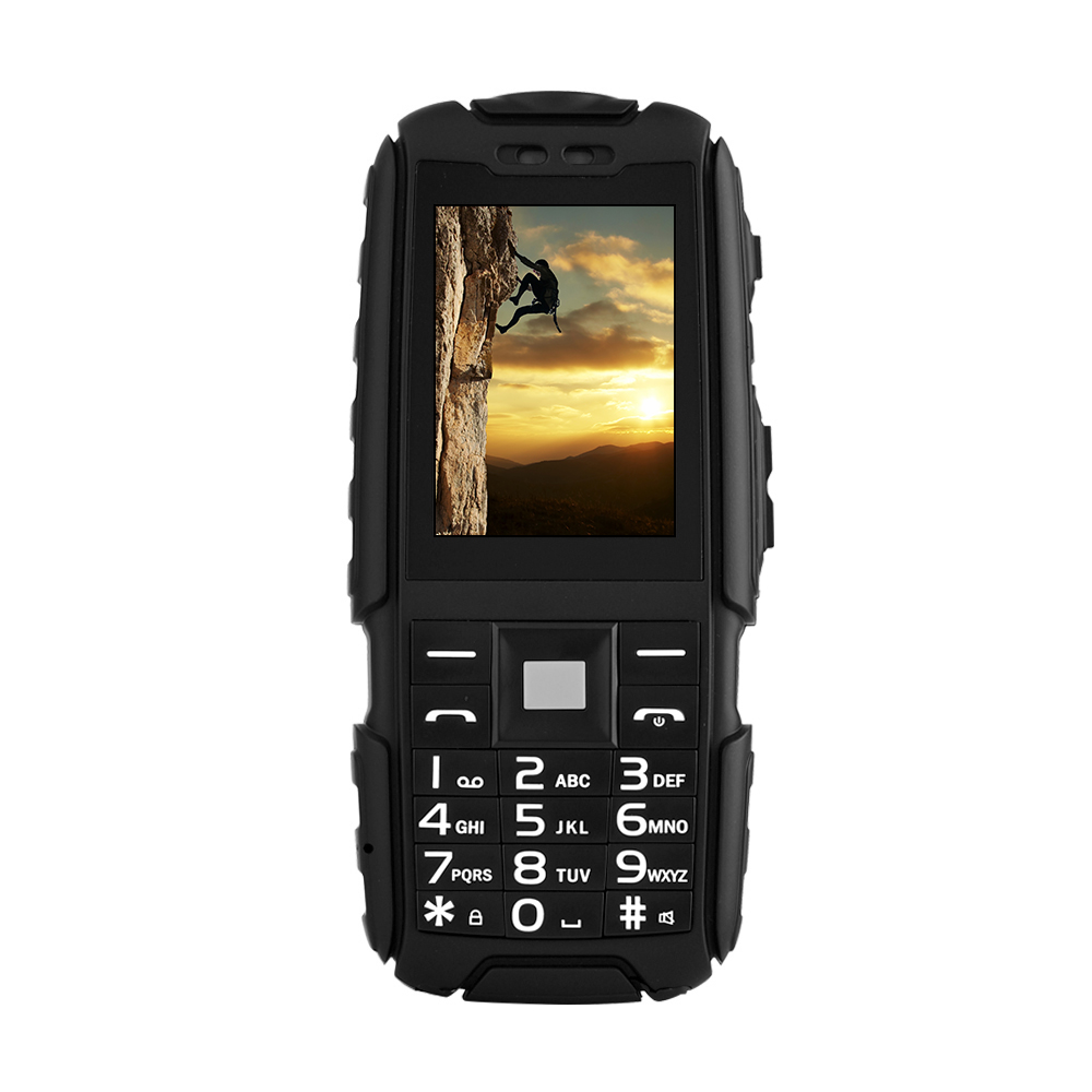 IP67 Waterproof shockproof Phone DTNO 1 A9 Dual SIM Card 4800mAh Big battery Power Bank Rugged