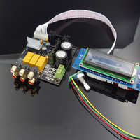 PREAMPLIFICADOR PGA2311 o PGA2310, Control remoto de volumen, pantalla LCD, NE5532 OP AMP para amplificador