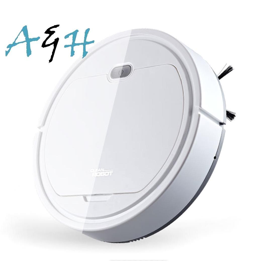 3 en 1 balayage Robot aspirateur 120 minutes sous 40db 7.4V USB charge 5 heures Auto nettoyage à la maison