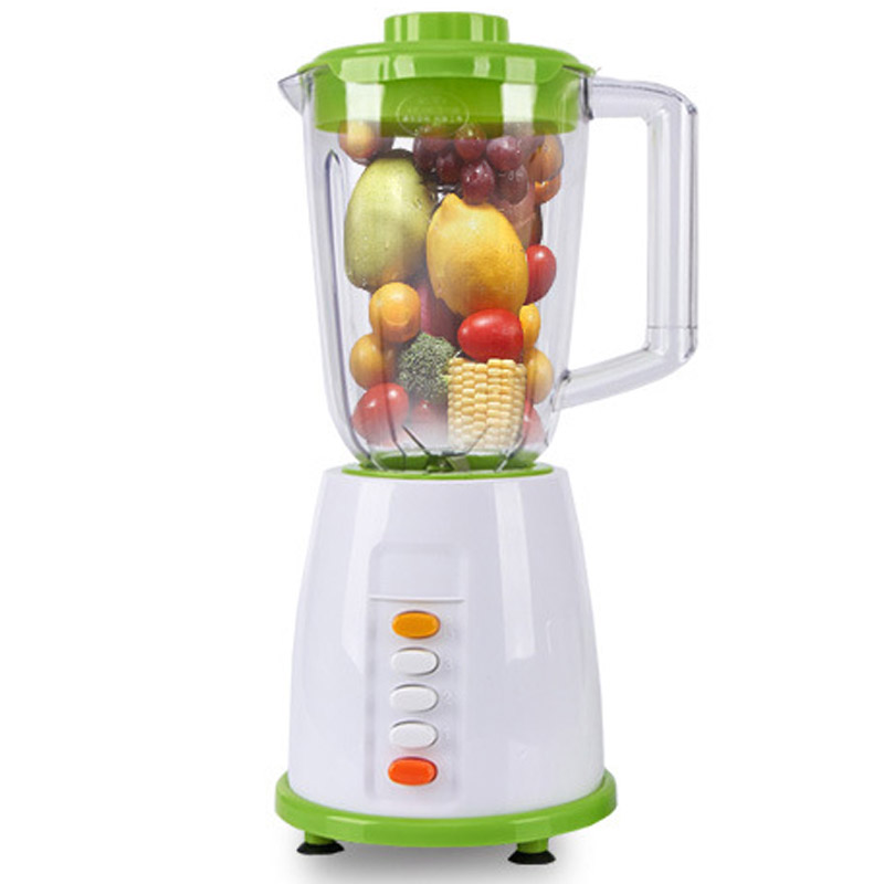 Electric Food Processor multifunction Fruit Vegetables Mixer Juicer Processor Meat Mixer Blender Smoothie Milk Power Blender bpa 3 speed heavy duty commercial grade juicer fruit blender mixer 2200w 2l professional smoothies food mixer fruit processor