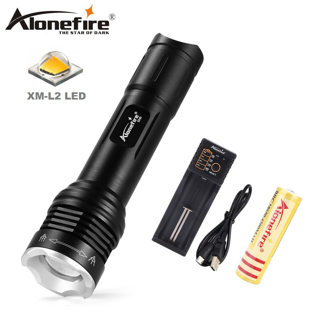 Black New Night Owl NOVA Q5 /& COB *Ultra Bright* LED Mini Pocket Zoomable Torch