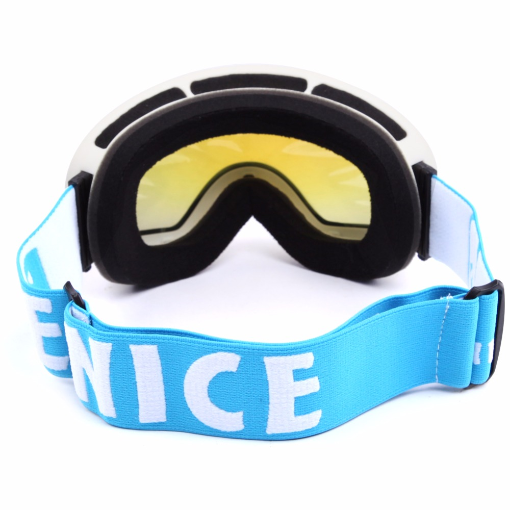 0169f55d356 Benice Brand Ski Snowboard Goggles Double Lens Anti Fog UV Spherical  Professional Ski Glasses Men Multicolor Snow Goggle Masks-in Skiing Eyewear  from Sports ...
