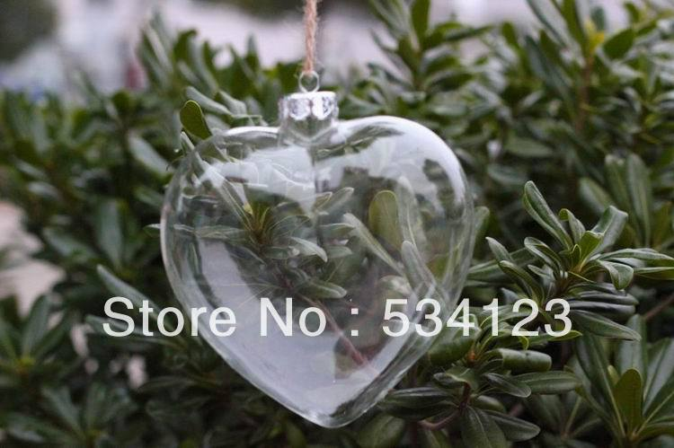 Bulk Christmas Ornaments.Us 30 96 Wholesale Heart Shape Christmas Ornaments Christmas Glass Pendants For Xmas Tree Decoration Xmas Gifts Freeship In Pendant Drop