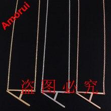 Rosa/oro/plata alfabet carta choker collar cuerpo cadena de joyería collar collar de la mujer árabe alfabeto collares