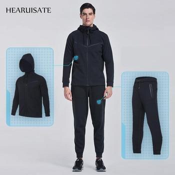 Long Sleeve Sweatshirts Jacket and Pants Running Set