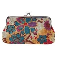 Women's Coin Purse Flower Pouch Wallet Money Bag