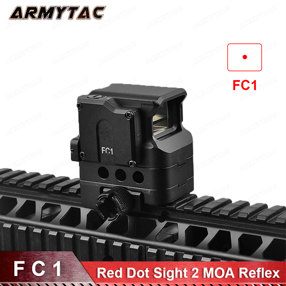 Optical FC1 Red Dot Sight Reflex Sight Holographic Sight for 20mm Rail Hunting Rifle optical fc1 red dot sight reflex sight holographic sight for 20mm rail hunting rifle