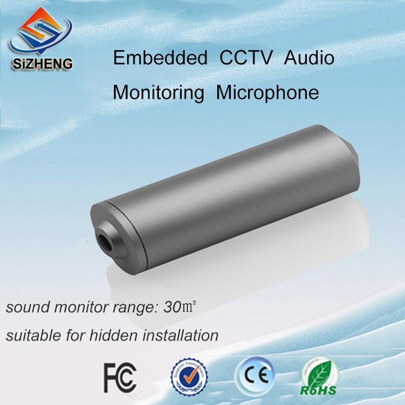SIZHENG COTT-C2 CCTV microphone cache audio ramasser caméra de sécurité dispositif de surveillance moniteur sonore pour caméra ip