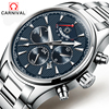 24 Jewels MIYOTA Automatic Mechanical Watch 50M Water Top Brand Luxury CARNIVAL Wristwatches Mens Automatic Mechanical