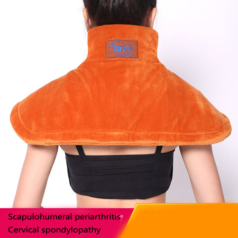 Electric Moxibustion shawl neck Cervical and shoulder heating pad cervical heating blanket Multiple protection+ Moxibustion bag