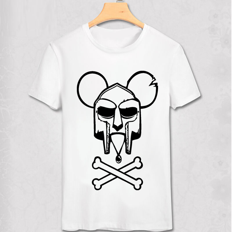 Charlie Doom Charlie Brown MF DOOM Wu Tang Madlib Madvillain Hip Hop Rap T Shirt Fashion Men Women Pure Cotton Short T-shirt