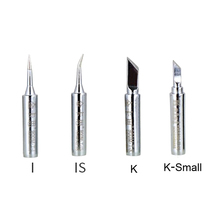 Kaisi 900M-T/I/IS/K/K-small Mouth 936 Electricity Soldering Iron Welding Head Station Solder Iron Tip Replacement For Solder Rep internal heating soldering iron welding head iron tip long service life cycle durable welding angle tip
