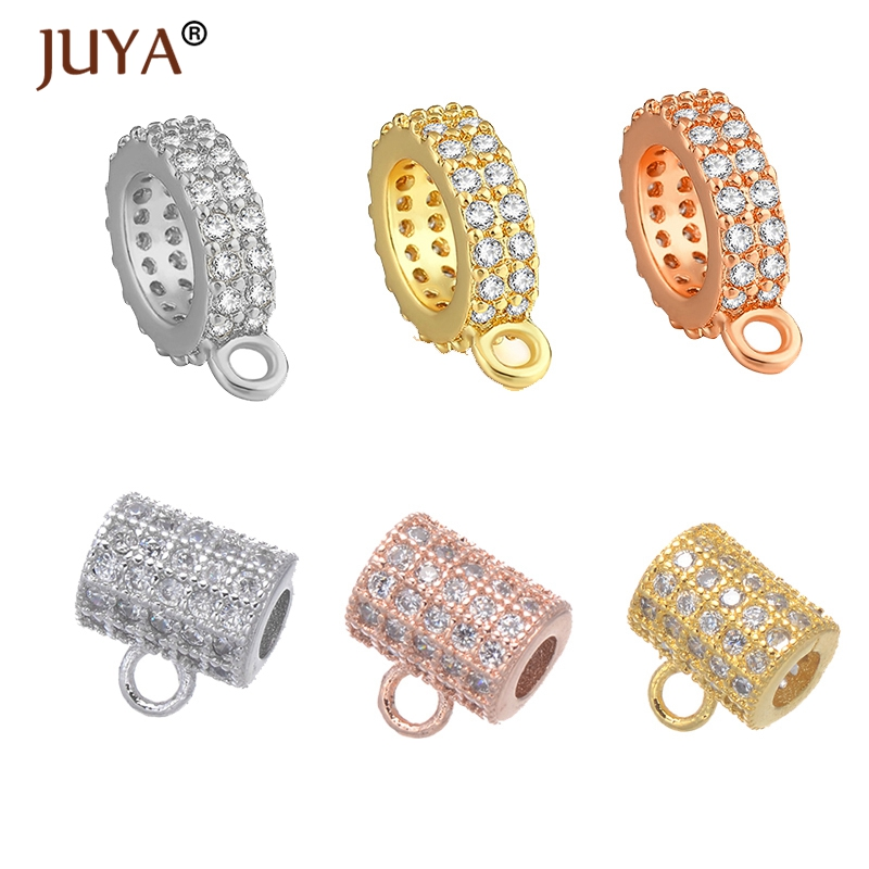 Jewelry Making Bead Charms Zircons Jewelry for DIY Necklace Bracelet Earring