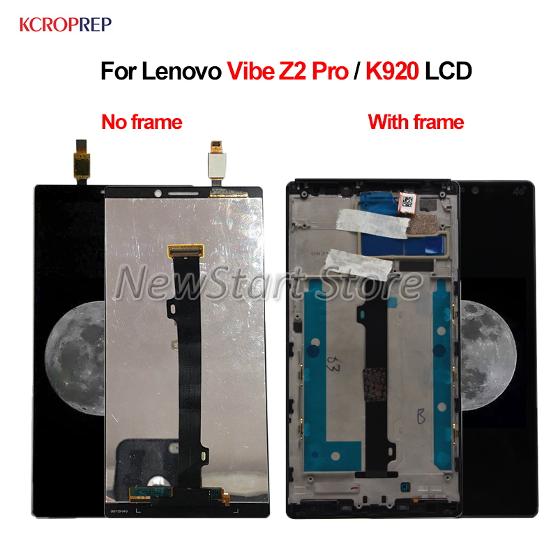 For Lenovo Vibe Z2 Pro LCD Display Touch Screen Digitizer Assembly 6.0 For Lenovo Vibe Z2 Prro K920 lcd Replacement AccessoryFor Lenovo Vibe Z2 Pro LCD Display Touch Screen Digitizer Assembly 6.0 For Lenovo Vibe Z2 Prro K920 lcd Replacement Accessory