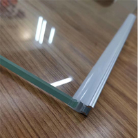 10 30pcs/lot 80nch 8mm thick glass nipping lighting led aluminium profile ,10mm strip linear channel to illuminate glass