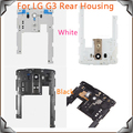Original For LG G3 D850 D851 D855 VS985 LS990 Rear Back Frame Board Housing With Camera Lens,Free Shipping!!(White/Gray)