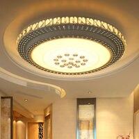 Modern Crystal Led Ceiling Lights For Living Study room Bedroom AC85 265V lamparas de techo Modern Led Ceiling Lamp Indoor Ligh
