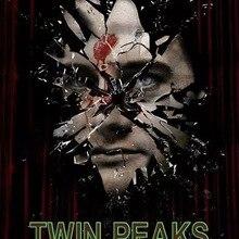 Twin Peaks la tercera temporada clásico película Neo-Noir película póster vintage retro lienzo de pintura de DIY de papel de pared hogar Decoración regalo