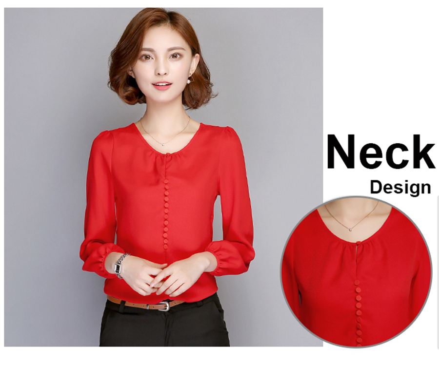 long sleeve blouse shirt women (2)