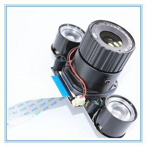 Image 3 - ラズベリーパイ 3 B + 5MP カメラ IR CUT 5MP 72 度焦点調節可能な長さのナイトビジョンノワールカメララズベリーパイ 3 モデル B +