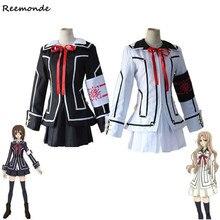 Anime vampiro Caballero Cosplay disfraces Kuran Yuki Souen Ruka chaqueta  falda camisa conjunto completo uniforme escolar 5415eaf9af7e