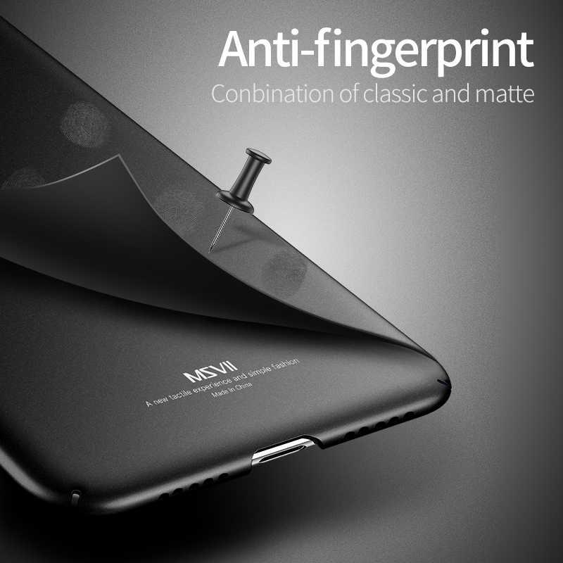 Xiaomi Redmi Note 7 чехол роскошный простой Сельма жесткая задняя панель из поликарбоната для Xiaomi Redmi Note7 Примечание 7Pro чехол Msvii телефон Coque