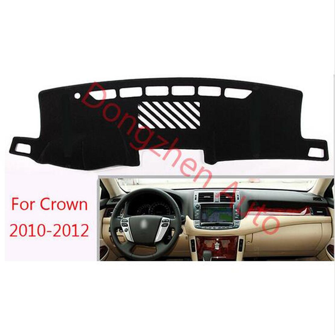 Rhd Kanan Drive Mobil Dashboard Hindari Cahaya Pad Karpet Rumah Panda 180 X 250 Ungu Instrumen Penutup Meja Platform Tikar Untuk Toyoya Mahkota 2010 2012