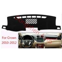 RHD Right Hand Drive Car Dashboard Avoid Light Pad Instrument Platform Desk Cover Mat Carpets For TOYOYA Crown 2010 2012