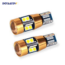 2x Canbus No Error 400lm T10 W5W LED Light 3030 Chip Motor Car Clearance Parking Number Plate Backup Reverse