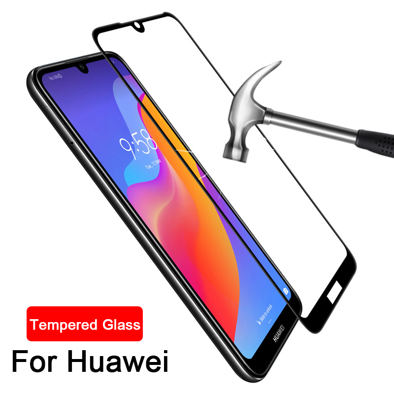 9H Full Tempered Glass for Huawei Y6 Prime 2019 screen protector for Huawei Y6 Prime 2018 Y 6 Pro 2017 pro2019 protective glass(China)