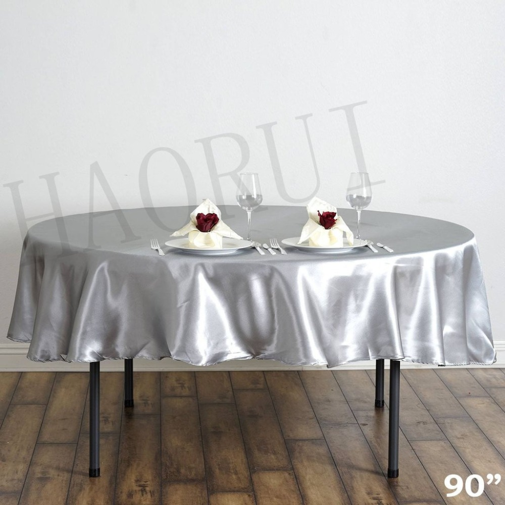 Buy 10pcs customized 90 39 39 silver round for Table cuisine 140 x 90