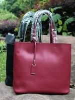 Flug Katze women Genuine leather Shopping bags Women Real leather Large Shoulder bags Designer Vintage bags