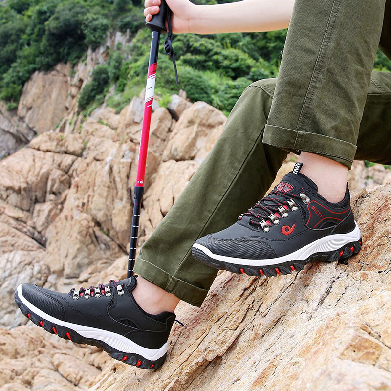 Summer Mesh Sneaker Shoe for man Casual Quality hiking shoes Basic Black Shoes Men s Sport