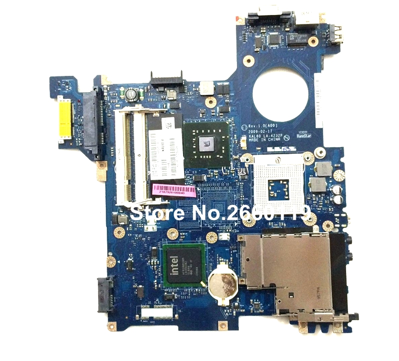 ФОТО 100% Working Laptop Motherboard For Dell 1320 LA-4232P System Board fully tested and cheap shipping