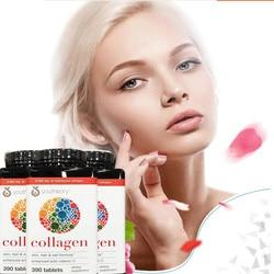 Коллагеновые женские коллагеновые таблетки Youtheory, импортированные из США, содержит 18 аминокислот, бутылка 390 таблеток