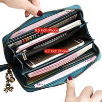 Sendefn Quality Women S Purse 2018 New Purse Long Zipper Women Purse Rfid Women Wallets Brand
