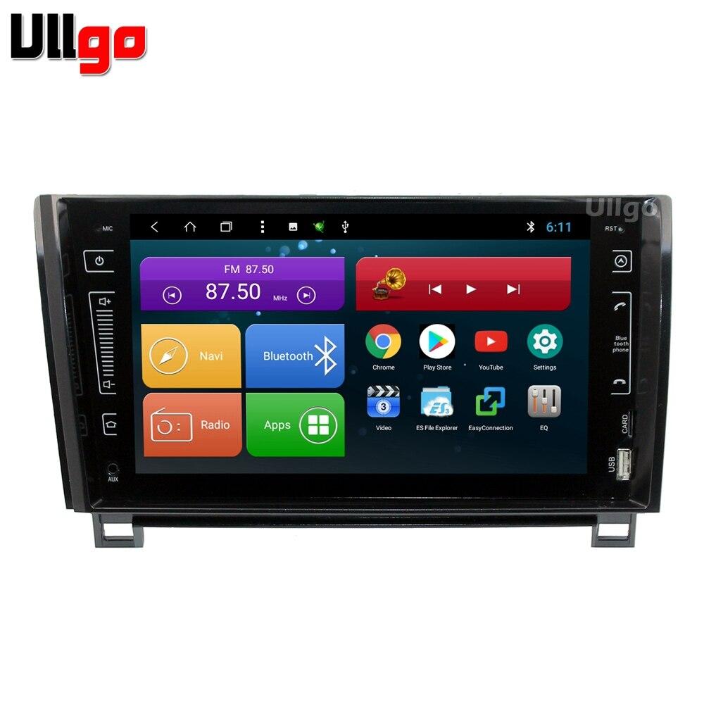 9 pouces Octa Core Android voiture DVD GPS pour Toyota Sequoia Tundra stéréo Autoradio GPS unité de tête de voiture avec BT RDS WIFI miroir-lien
