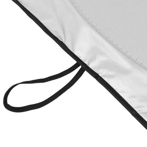 Image 5 - Frente del coche parabrisas trasero sombrilla cubierta reflectante parabrisas de coche sol sombra plegable sombrilla persiana UV parasol Protector