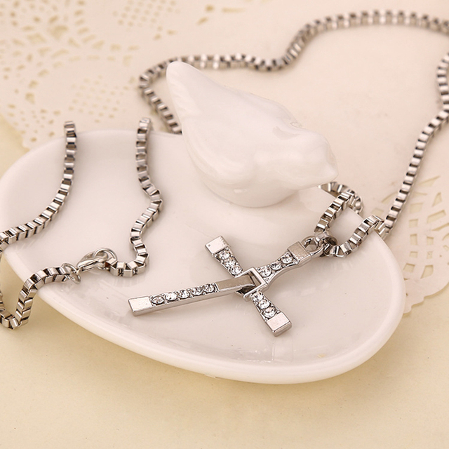Fast & Furious Dominic Toretto Cross Pendants Necklaces