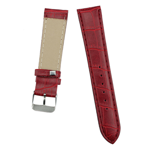High Quality 20mm watch strap Fashion Man Women Watches Leather Strap Watchband Watch Band bracelet de montre Hot Sell Newest