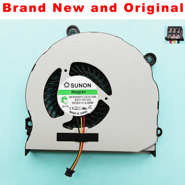 New Cpu fan for SAMSUNG NP355 NP355V4X NP355V4C NP350V5C NP355E4C 355V5C cpu cooling fan cooler MF60090V1-C510-G9A BA31-00132A