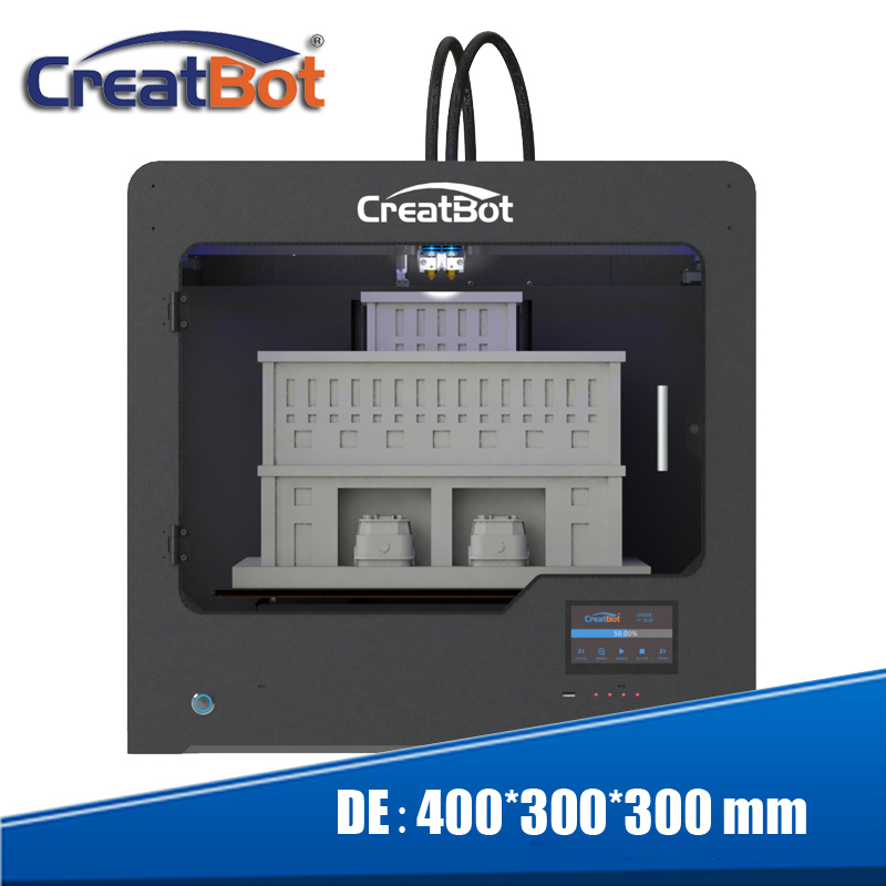 2015 Upgraded Quality Fully metal Creatbot DIY 3d Printer Kit High - Office Electronics