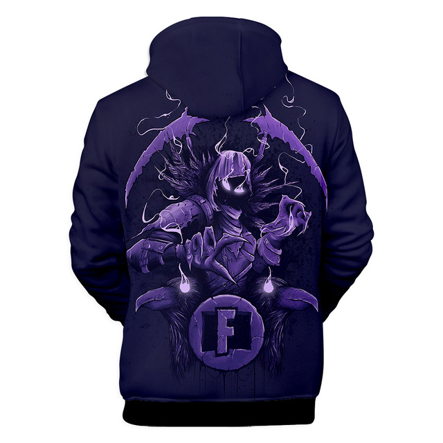 Fortnited Battle Royale Pink Streetwear Drawstring Hoodie Men Hip Hop Sweatshirts 3d Anime Print Pullover Punk Hipster x5460  5