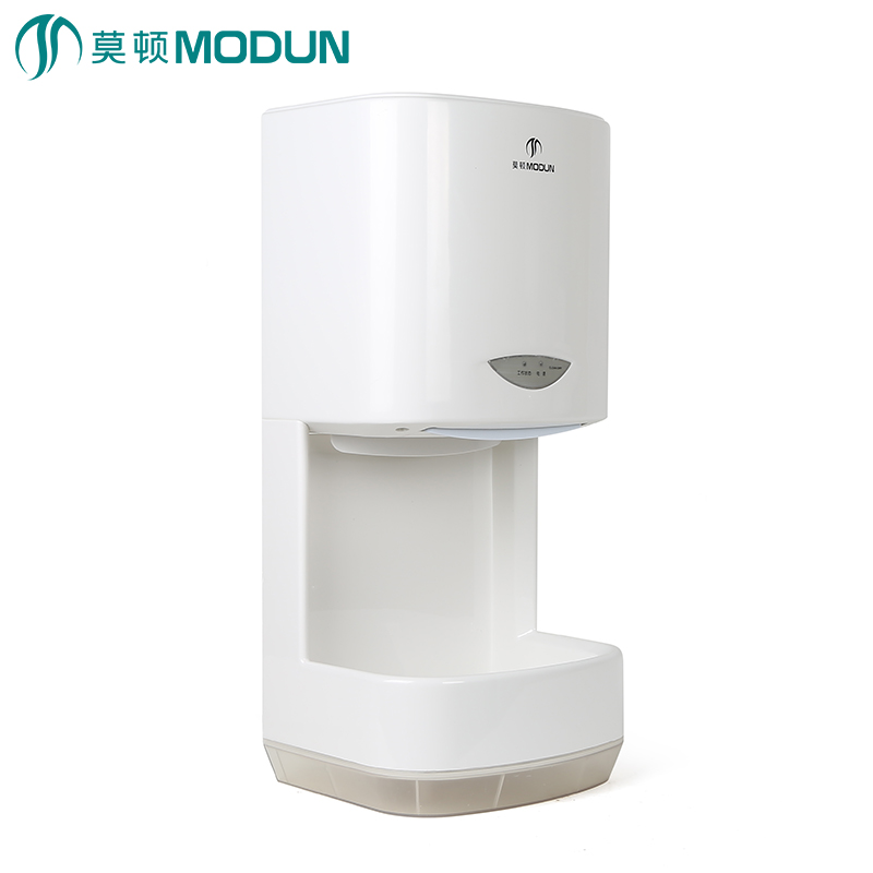 Modun Bathroom Commercial High Velocity Abs Automatic Hand Dryer With 1000ml Water Tank In Hand