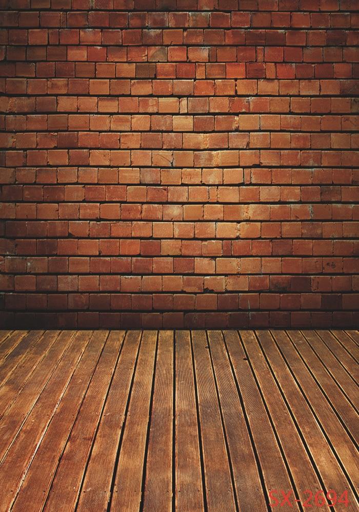 Red Brick Wall Board Dekoration Fotografi Bakgrund Foto - Kamera och foto