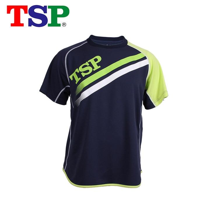 TSP 2017 New Table Tennis Jerseys T-shirts for Men / Women Ping Pong Cloth Sportswear Training T-Shirts