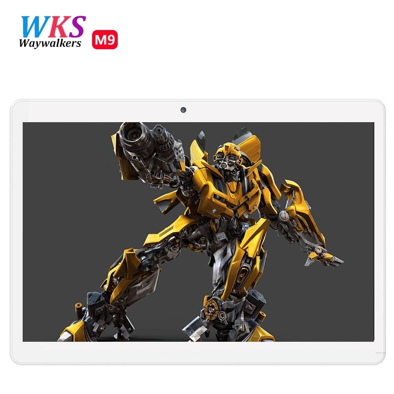 Waywalkers 3g android tablets pc tab pad 10.1 pulgadas ips mtk pantalla Octa Cor