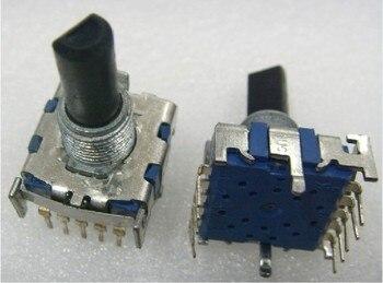 [VK] Original Japan ALPS import six-speed band rotary switch gear switch 20MM half shaft